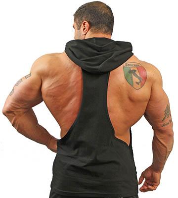 y back hoodie men