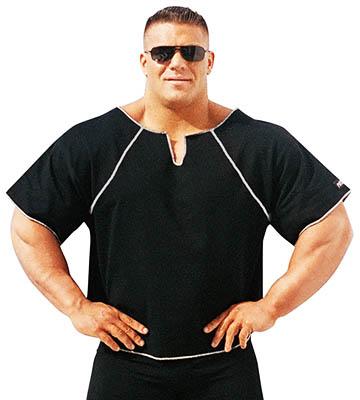 rag top bodybuilder shirt